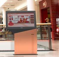 Die neuen Standard-Kiosksysteme von TOSHIBA TEC eignen sich für zahlreiche Anwendungen, damit sich Kunden besser informieren oder auch Interaktionen bis hin zum Kaufabschluss selbständig vornehmen können.