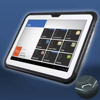 Business Support Tablet Casio V-T500 (Bild: Casio Europe, Norderstedt)